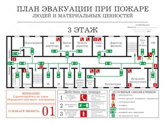 План эвакуации людей