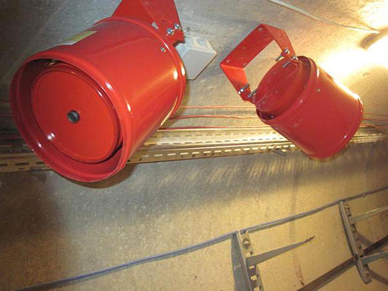 Автоматическая установка аэрозольного пожаротушения