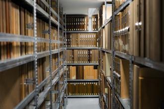 Газовое пожаротушения в архивах