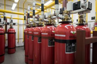 Пожаротушение для производственных зданий
